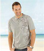 Sada 2 triček Maori Spirit se zapínáním na knoflíčky preview2