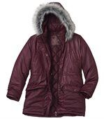 Women's Stylish Padded Parka with Hood preview3