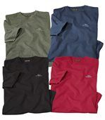4er-Pack T-Shirts Expedition Colorado preview1