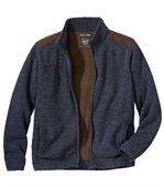 Pletený svetr podšitý fleecem preview2