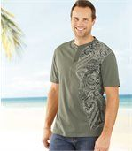 2er-Pack T-Shirts Maori Spirit mit Henleykragen preview3