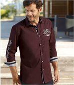 Men's Burgundy Shirt - Mythic Driver preview1