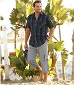 Trojštvrťové nohavice z mikrovlákna Oahu preview2