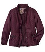 Women's Padded Jacket - Plum preview2