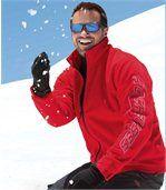 Men's Red Jacket - Fleece preview2
