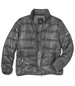 Men's Grey Winter Puffer Jacket preview1