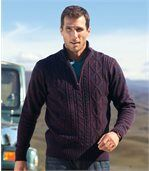 Sweter z warkoczami Rio Grande preview1