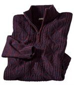 Sweter z warkoczami Rio Grande preview2