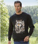 Bluza z moltonu Wolf Legend preview1