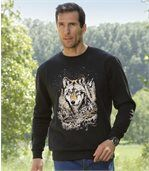 Molton-Sweatshirt Wolf Legend preview1