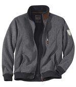 Fleecová bunda snepromokavou povrchovou úpravou preview1