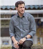 Men's Blue Colorado Chambray Shirt