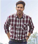 Kockovaná flanelová košeľa preview1