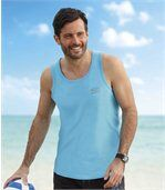 3er-Pack Tanktops Beach Sport preview2