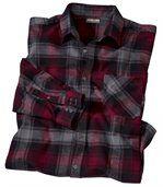Flanellen 'Calgary' overhemd preview2