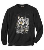 Molton Sweater Wolf Legend preview2