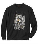 Molton-Sweatshirt Wolf Legend preview2