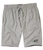Men's Grey Sunset Coast Jersey Bermuda Shorts