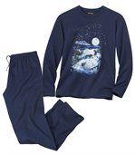 Katoenen pyjama Dark Moon preview2