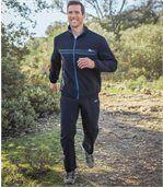 Jogging-Anzug aus Microfaser im sportlichen Stil preview1