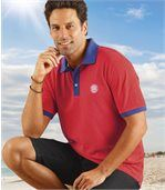 2er-Pack Poloshirts in sommerlichen Farben preview2