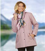 Women's Pastel Pink Microtech Parka preview1