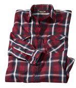 Kockovaná popelínová košeľaRocky