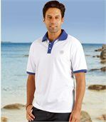 2er-Pack Poloshirts in sommerlichen Farben preview3