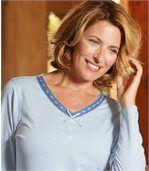 Women's Blue Pyjamas preview2