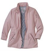 Women's Pastel Pink Microtech Parka preview2