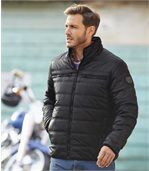 Men's Top Comfort Padded Jacket - Black