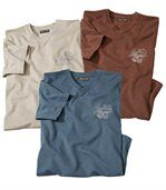 3er-Pack T-Shirts Western Tale preview1