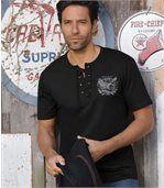 2er-Pack T-Shirts Tucson mit Schnürung preview2