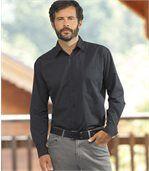 Popelinowa koszula Winter Style preview2