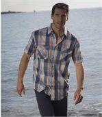 Men's City Regata Checked Shirt preview2