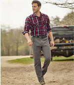 Sivé džínsy Regular