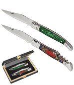 Darčeková súprava 2skladacích nožov preview1