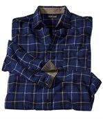 Kockovaná flanelová košeľa Sherbrooke