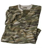 Men's Camouflage Print T-Shirt preview2