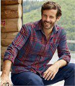 Chemise à Carreaux en Flanelle Mountain