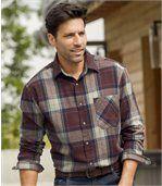 Kostkovaná flanelová košile Wintertime preview1