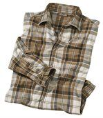 Men's Checked Flannel Shirt preview2
