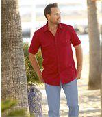 Červená letní košile preview1