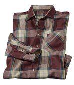 Kostkovaná flanelová košile Wintertime preview2