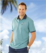 Men's Turquoise Polo Shirt  preview1