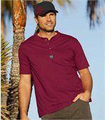 Set van 3 T-shirts met Tunesische kraag preview2
