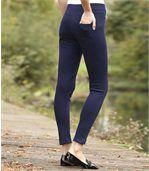 Women's Navy Comfort Leggings
