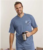 Men's Midnight Blue Short Pyjamas