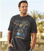 T-Shirt mit Adler-Motiv  preview1