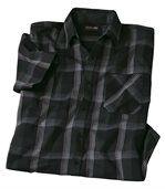 Elegantná kockovaná košeľa